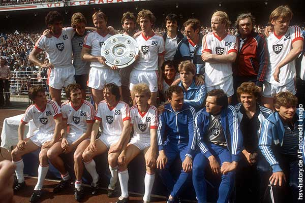 deutscher meister 1982 hamburger sv hsv. Black Bedroom Furniture Sets. Home Design Ideas