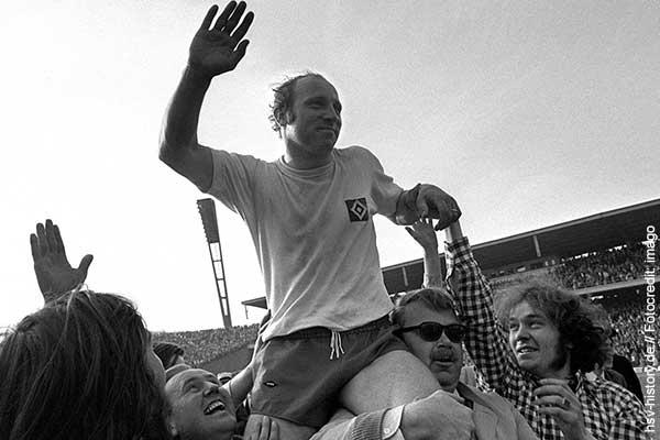 Uwe Seeler Abschied 1972