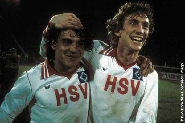 Ditmar Jakobs Felix Magath HSV 1980