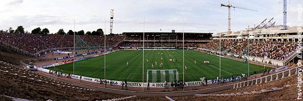 Volksparkstadion Umbau