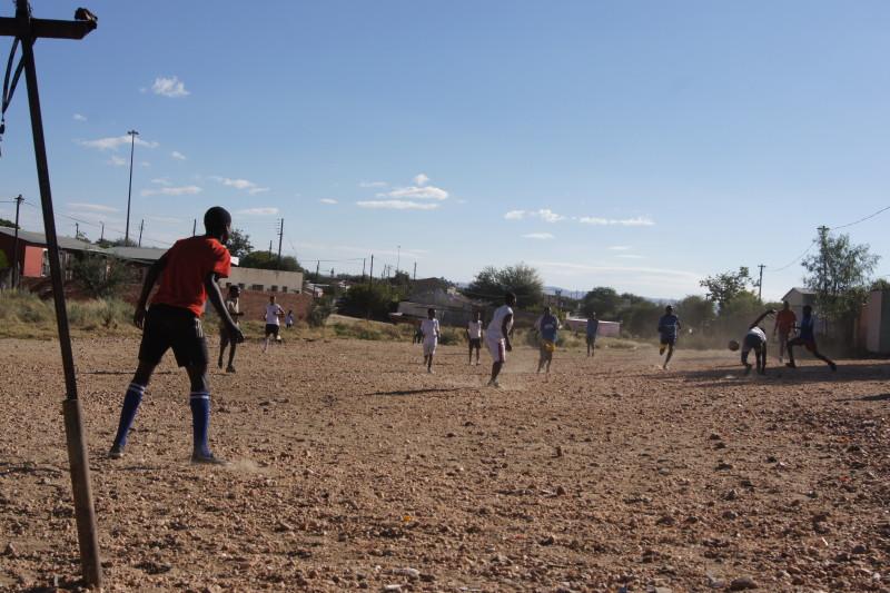Windhoek Fußballspiel