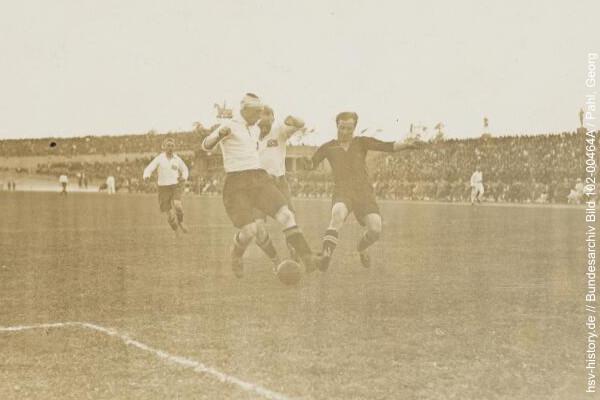 Endspiel HSV - Nürnberg 1924